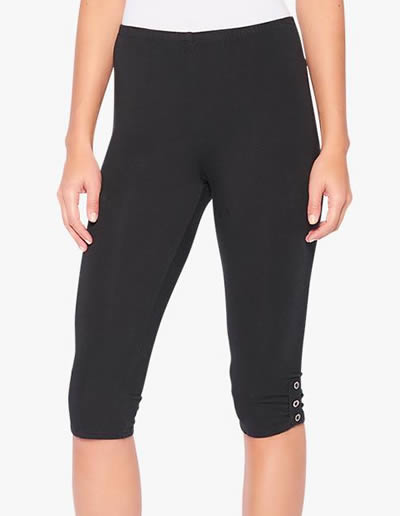 knee high leggings | 40plusstyle.com