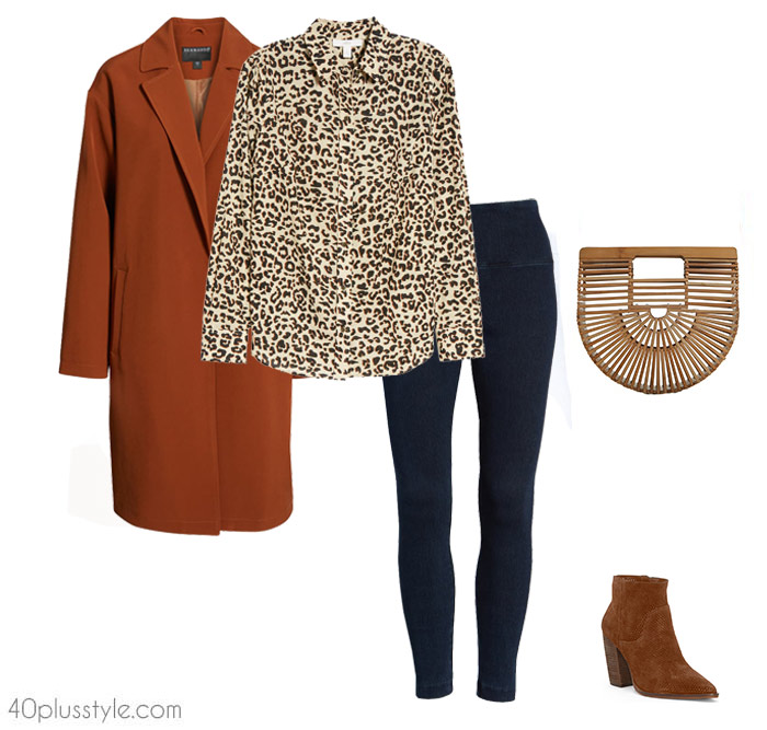 9670ca68cf6 How to wear leggings over 40, 50, 60 and beyond. | 40plusstyle.com