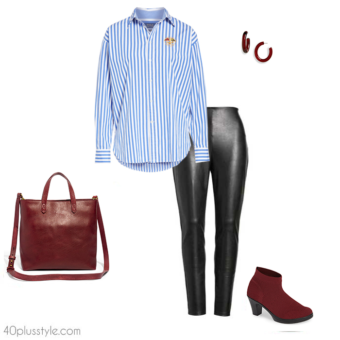 a38d1318d How to wear leggings over 40