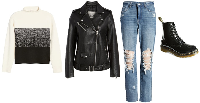 the rock/urban personality outfits | 40plusstyle.com