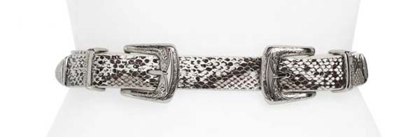 snake print accessory pieces | 40plusstyle.com