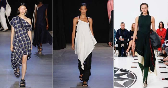 Fashion trends 2019: asymmetry | 40plusstyle.com