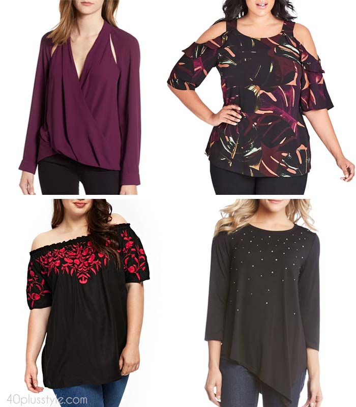 The best tops to hide your tummy | 40plusstyle.com