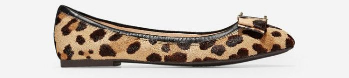 leopard flats for women | 40plusstyle.com