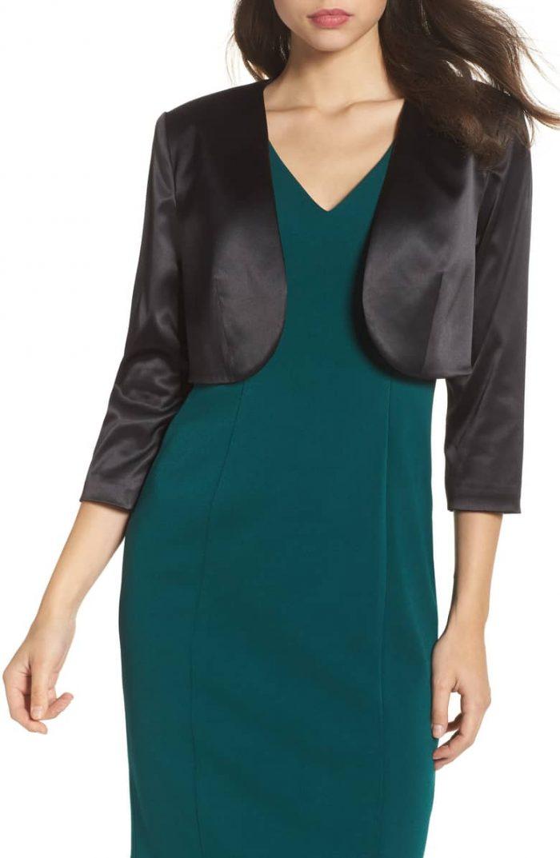 Stylish boleros for evening dresses | 40plusstyle.com