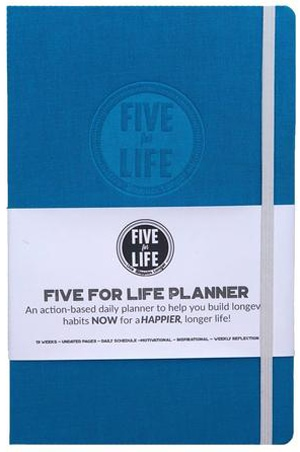 Five for Live planner | 40plusstyle.com
