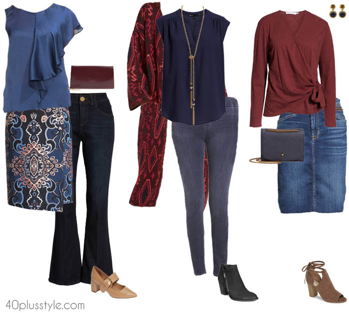 Stylish outfit ideas | 40plusstyle.com