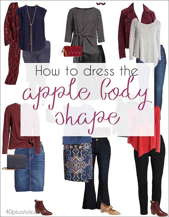 How To Dress The Apple Body Shape The Best Tops And Bottoms