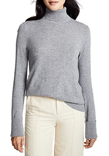 Cashmere sweater for stylish winter looks | 40plusstyle.com