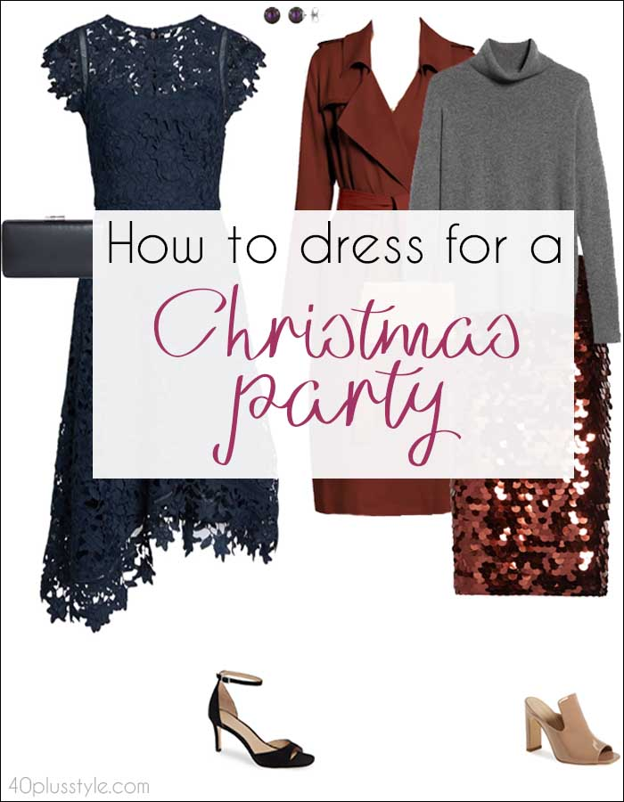 christmas party outfit | 40plusstyle.com