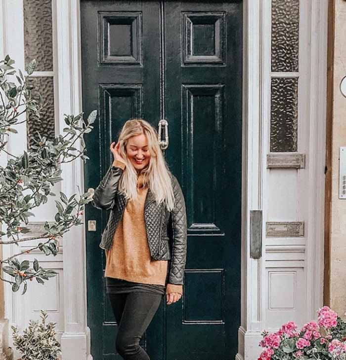 How to style the biker jacket | 40plusstyle.com