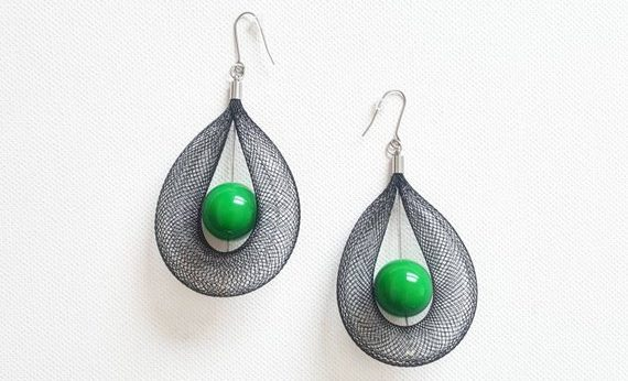 Chic etsy statement earrings for women | 40plusstyle.com