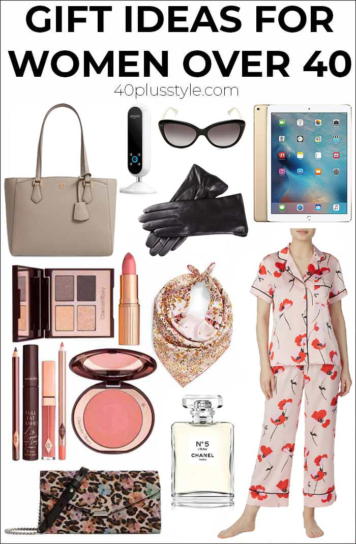 Gift ideas for women over 40   40plusstyle.com