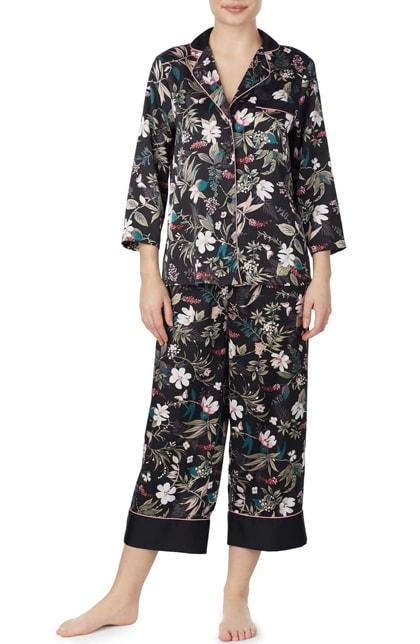 Kate Spade botanical pajamas | 40plusstyle.com