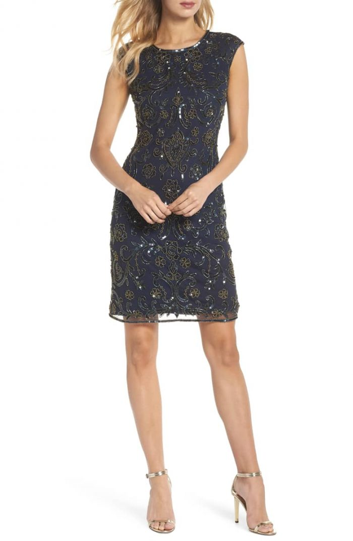 Sheath dresses to wear for the holidays | 40plusstyle.com