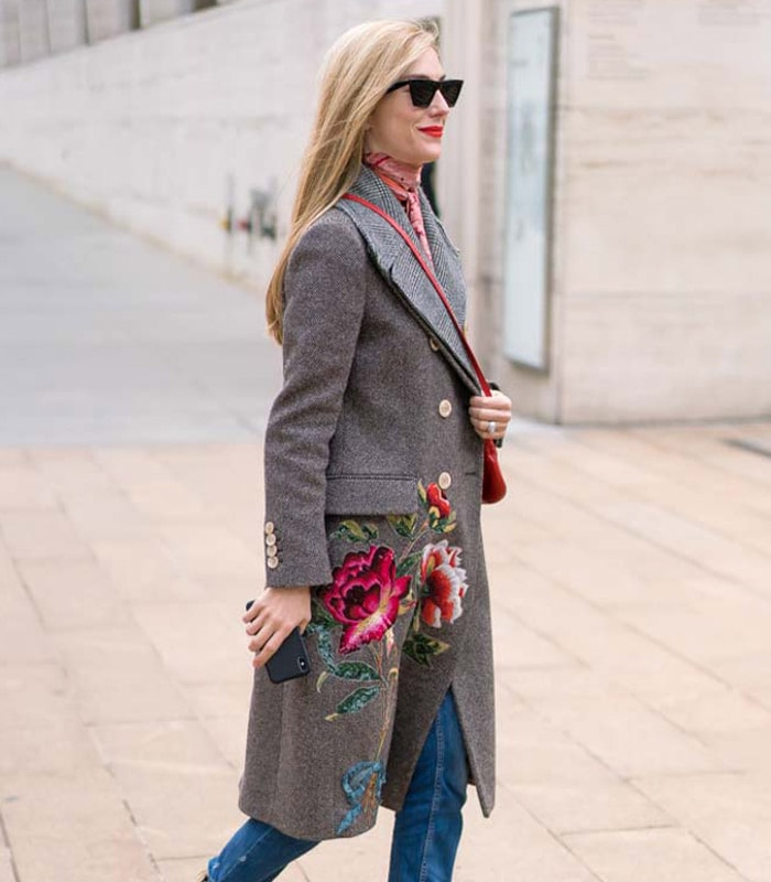 40+ Streetstyle Inspiration: Stylish Winter Coats | 40plusstyle.com