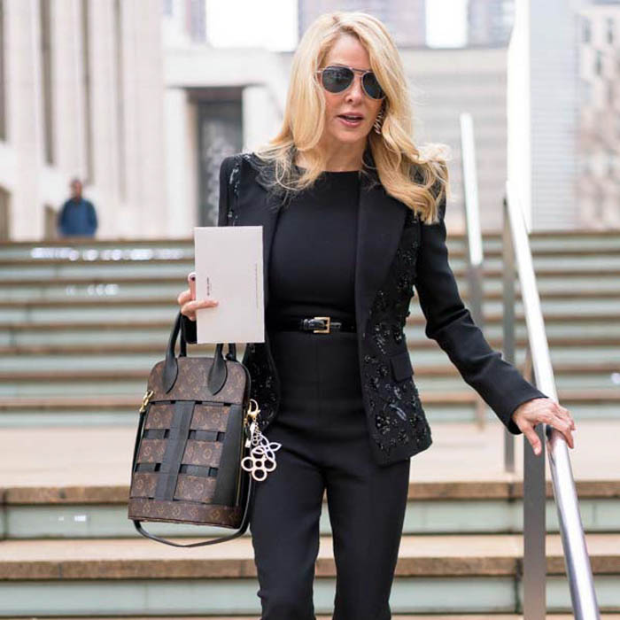 Black Jacket with Sequins | 40plusstyle.com