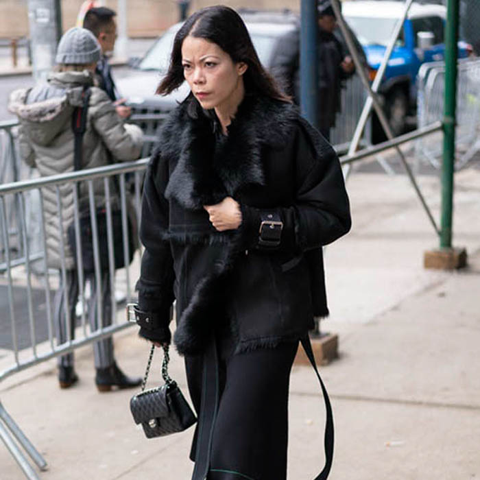 Wearing black for winter | 40plusstyle.com