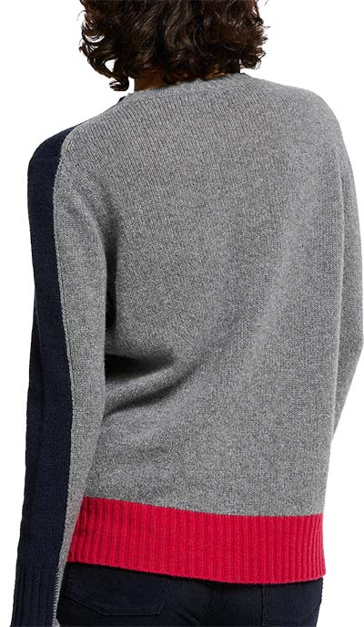 grey cashmere sweater from John Lewis | 40plusstyle.com