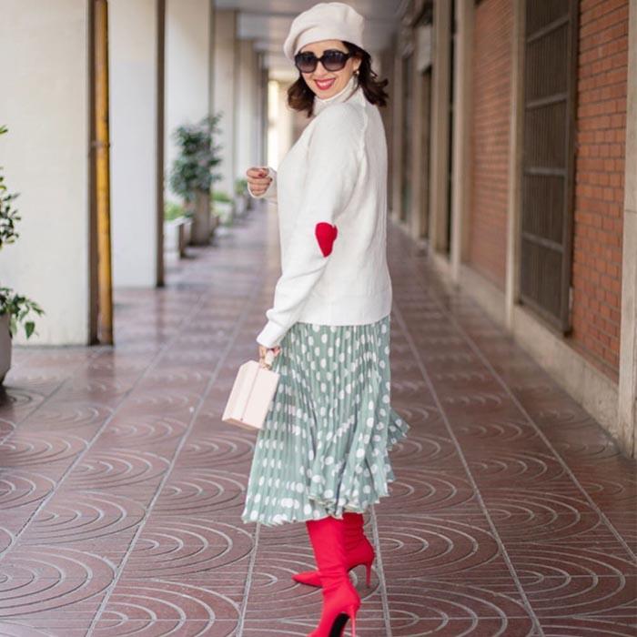 Wearing heels over 40 | 40plusstyle.com