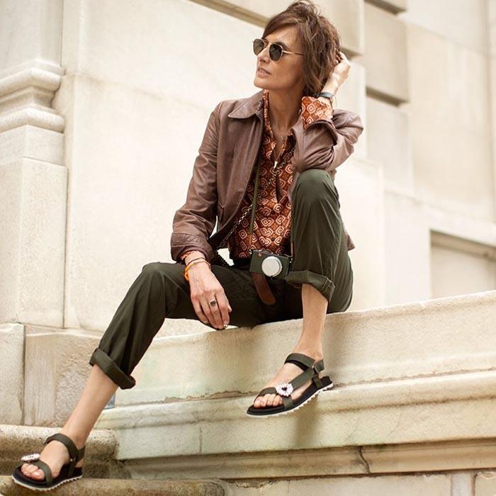 Ines de La Fressagne | 40plusstyle.com