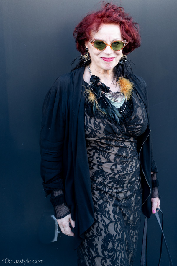 Wearing lace for women over 40 | 40plusstyle.com