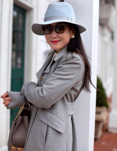 How to wear grey | 40plusstyle.com