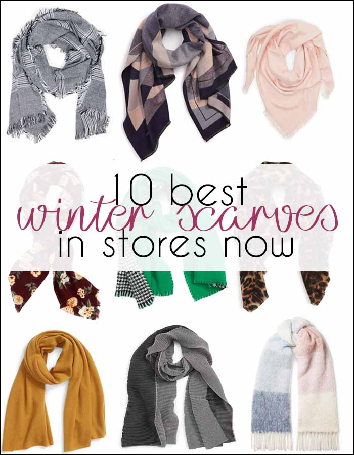 Scarves for women: 10 of the best winter scarves in stores now | 40plusstyle.com