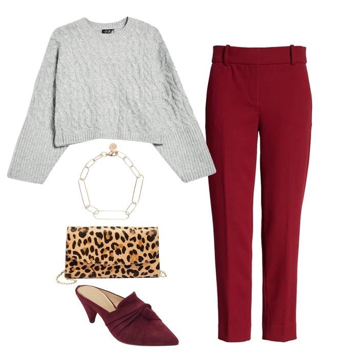 High Waist pants for petite women   40plusstyle.com