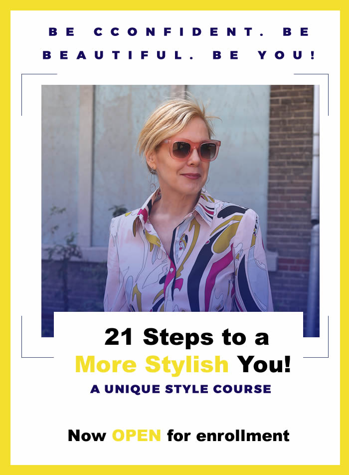 21 steps to a more stylish you course | 40plusstyle.com