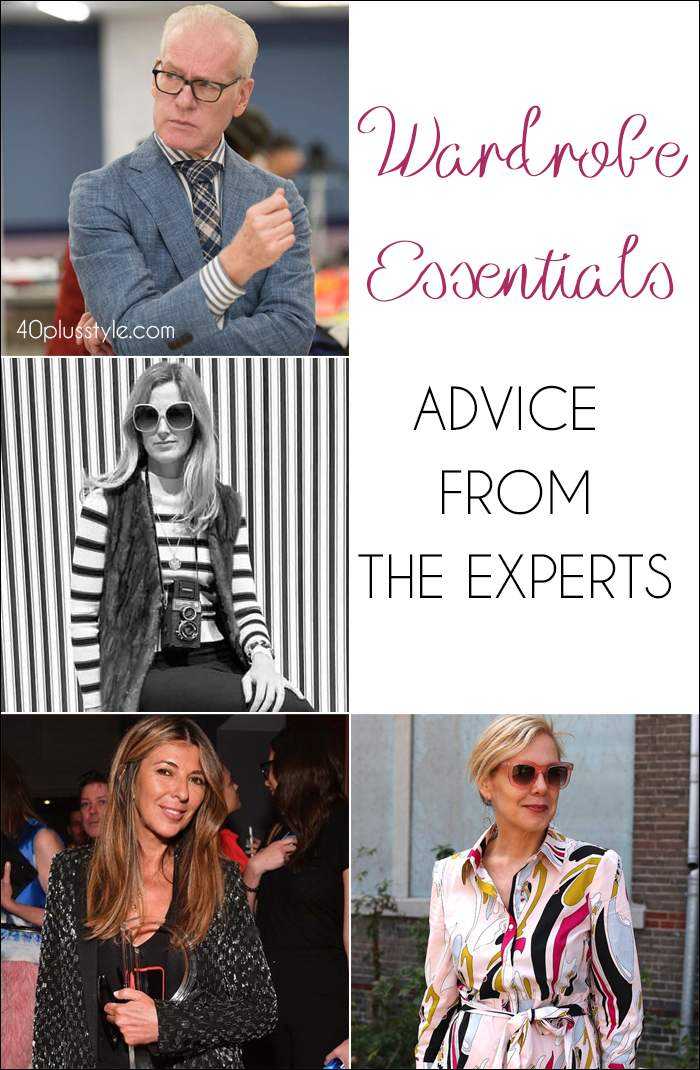 Wardrobe essentials - Advice from the experts | 40plusstyle.com