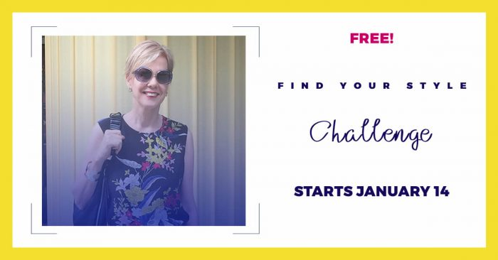 Join the Find Your Style Challenge! | 40plusstyle.com