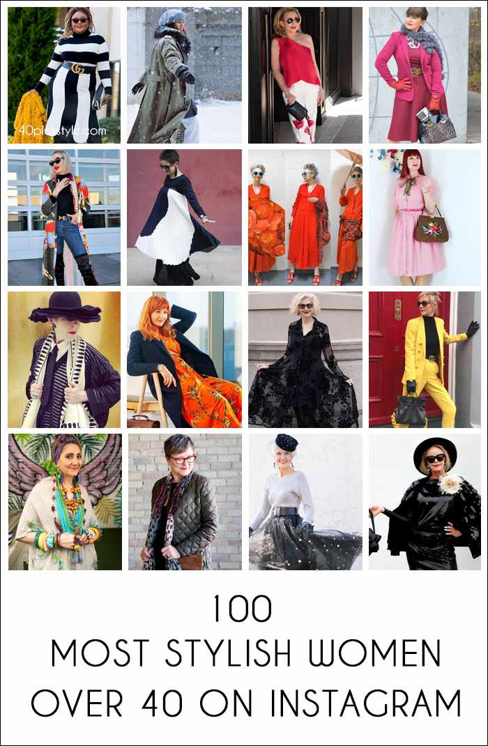 Most Stylish Women Over 40 On Instagram | 40plusstyle | fashion over 40