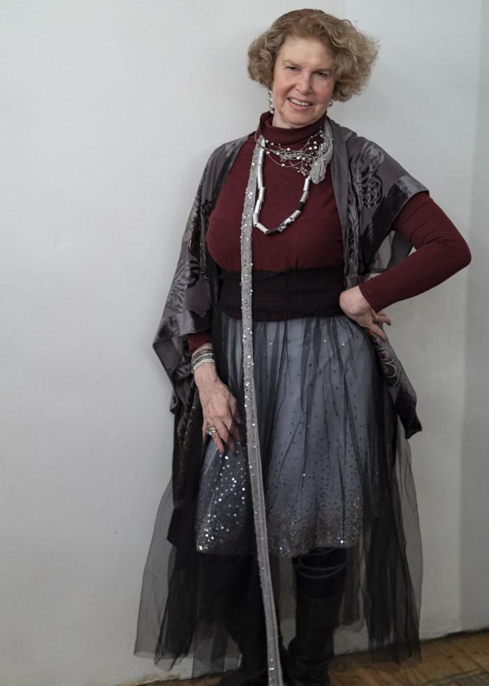 Fuller skirts for women over 40 | 40plusstyle.com