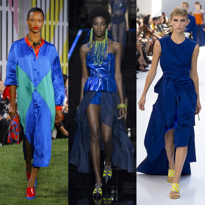 Beautiful bright blues for spring 2019 | 40plusstyle