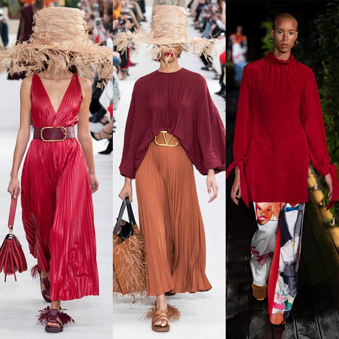 Burgundy for spring and summer | 40plusstyle