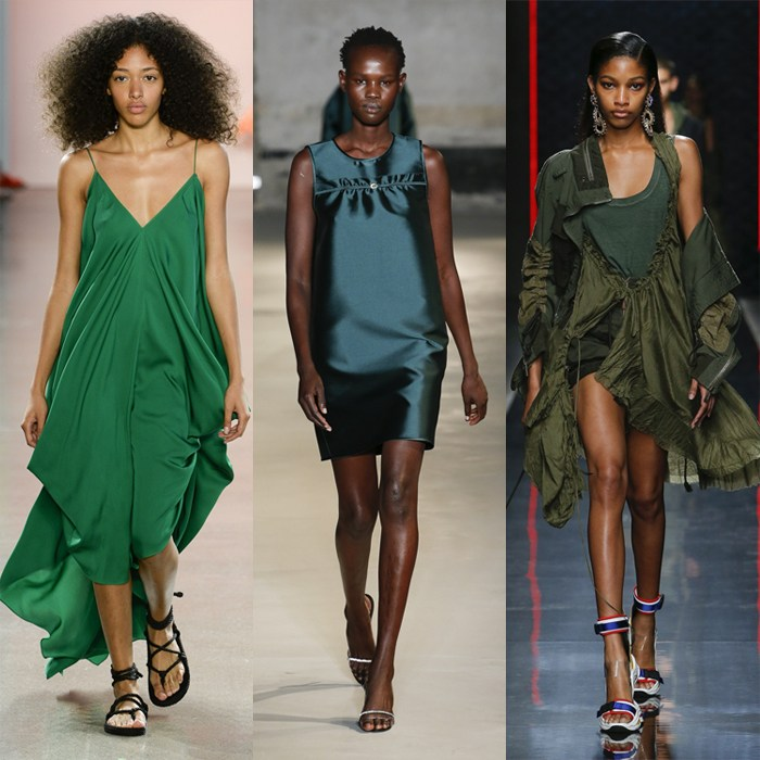 Deep olive or emerald greens for summer | 40plusstyle
