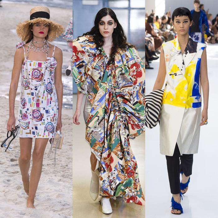 12 trends for spring and summer 2019: Art inspired prints for spring | 40plusstyle
