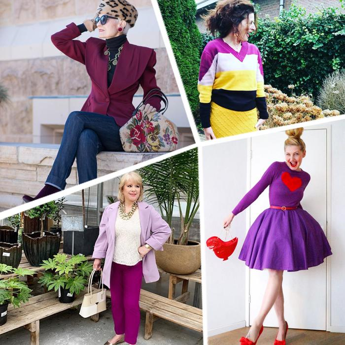 How to wear purple: 7 color combinations for you to try   | 40plusstyle