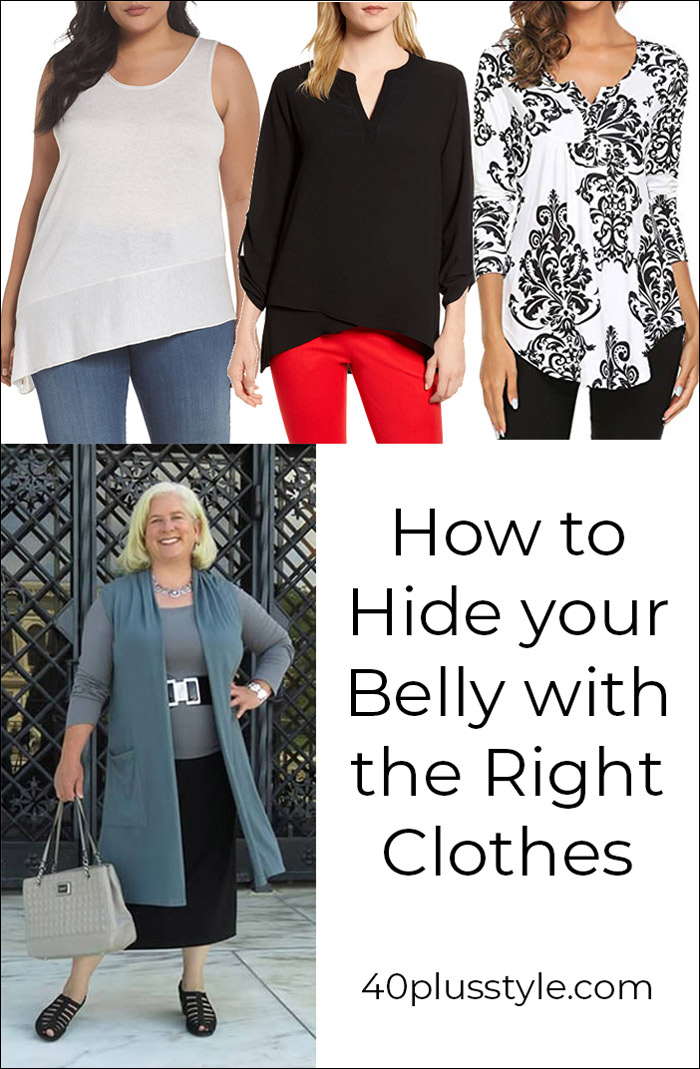 How to wear your belly with the right clothes | 40plusstyle.com