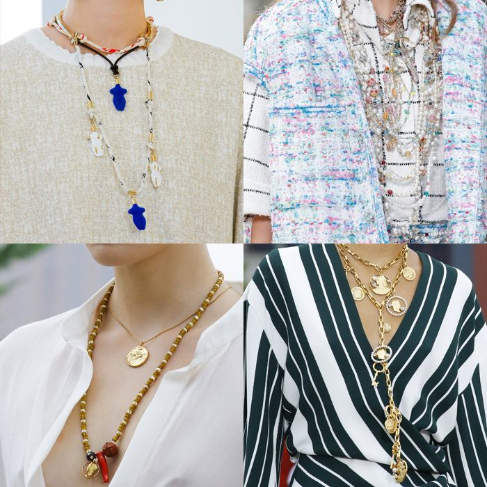 Layered necklaces | fashion over 40 | style | fashion | 40plusstyle.com