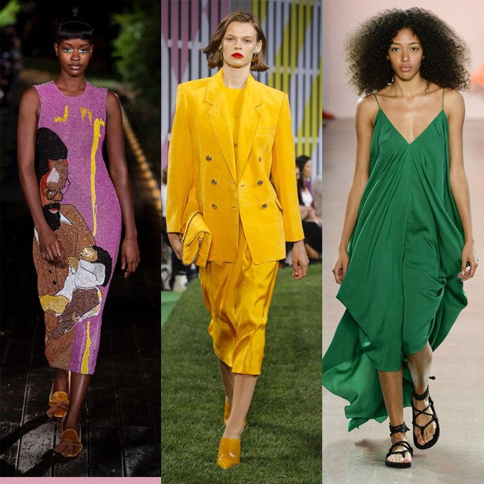 The best colors for spring 2019 - take your pick of 16 bright and muted colors | 40plusstyle