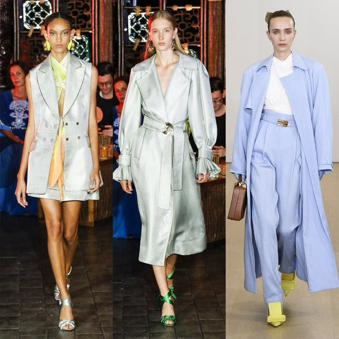 Pale blue color trend for spring | 40plusstyle