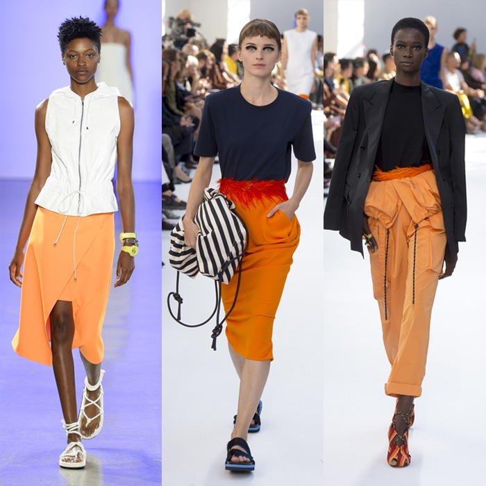 Wearing orange for spring 2019 | 40plusstyle