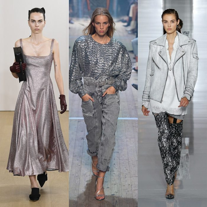 Silver and metallic styles for women over 40 for spring 2019 | 40plusstyle
