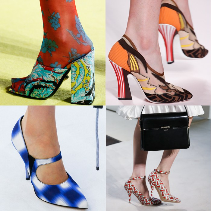 Shoe trends spring / summer 2019 | The best patterned shoes for spring | 40plusstyle.com