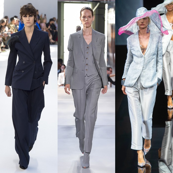 The best 12 trends for spring and summer 2019: Pant suits for women over 40 | 40plusstyle