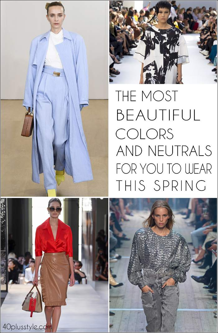 The best colors for spring | 40plusstyle.com