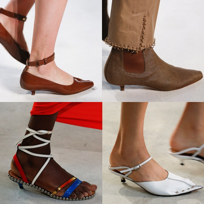 Tiny heels are on trend for spring 2019 | 40plusstyle.com