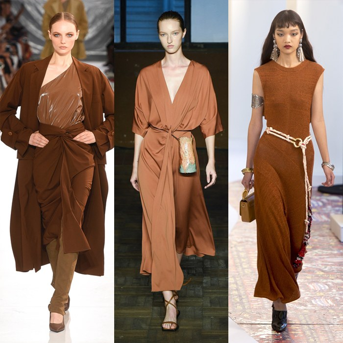 Toffee or chocolate brown - color trends for spring 2019 | 40plusstyle